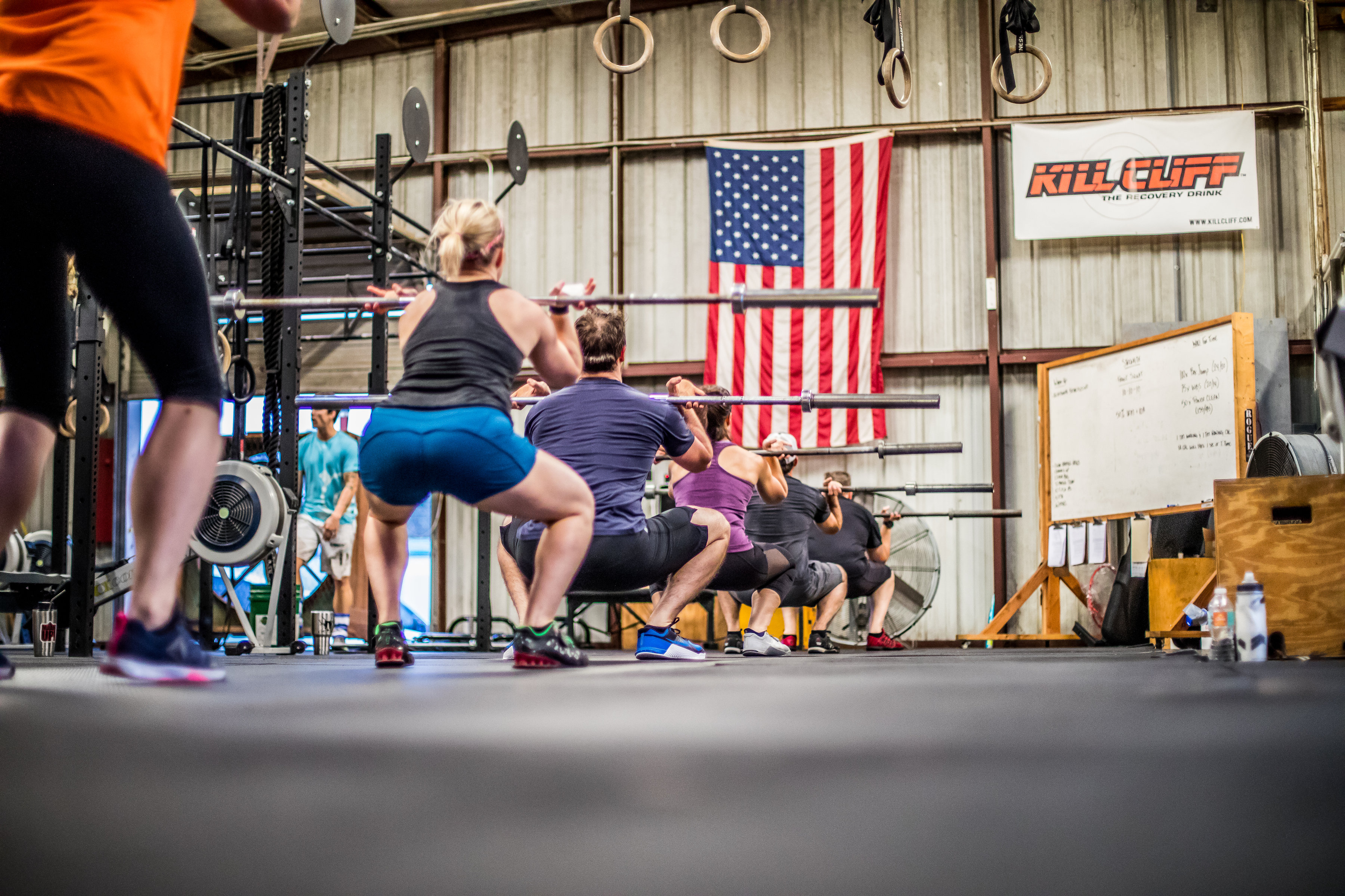 CrossFit Class Warm-Up